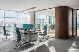 Освещение офиса компании Mubadala
