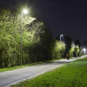 Освещенные улицы на Google Maps