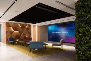 Офис OpenText освещение